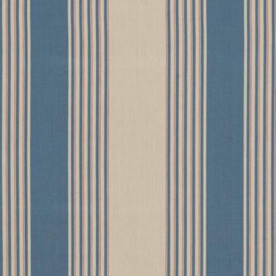 Silver Lake Stripe - Vintage Blue