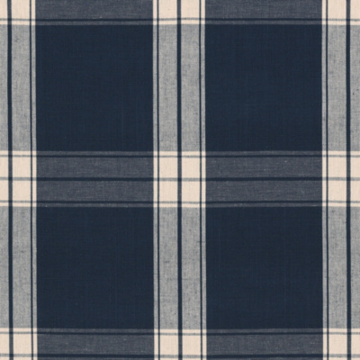 Granville Plaid - Navy