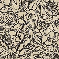 Superb Daintree Floral   Ebony