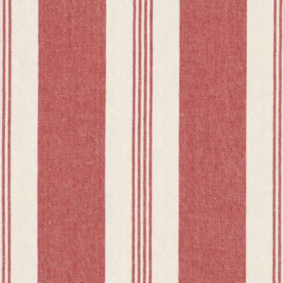 Mill Pond Stripe - Poppy/Cream
