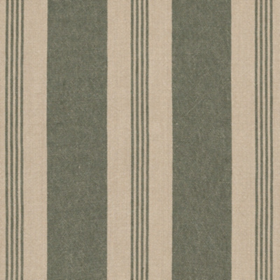Mill Pond Stripe - Hedge/Linen