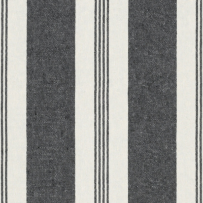 Mill Pond Stripe - Black/Cream