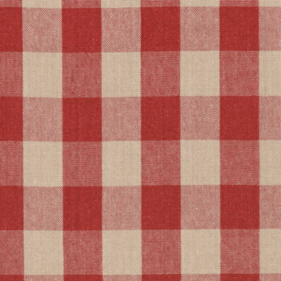 Old Forge Gingham - Poppy/Linen