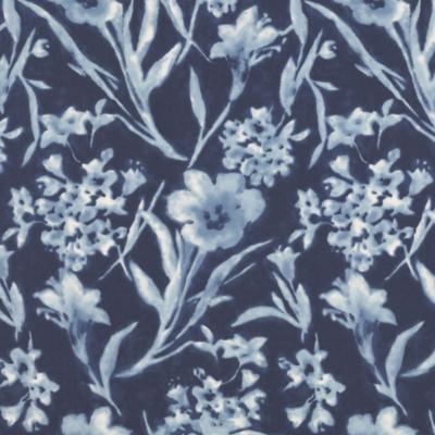 Ginger Flower Batik - Porcelain