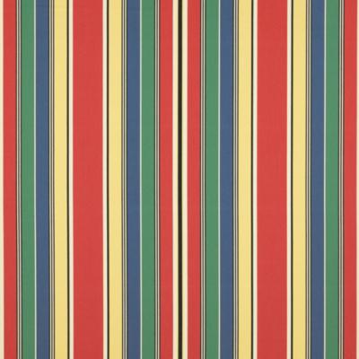 Shell Beach Stripe - Vintage Red