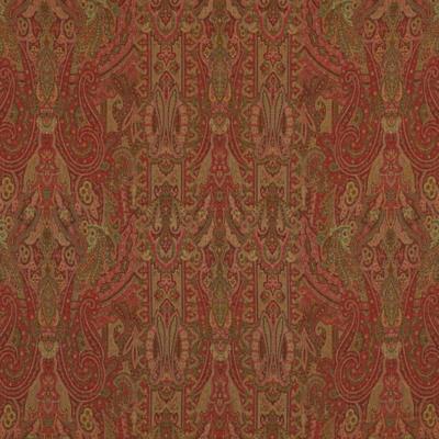 Berkeley Wool Paisley - Cavalry Red