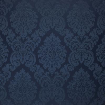 Albertine Damask - Prussian Blue