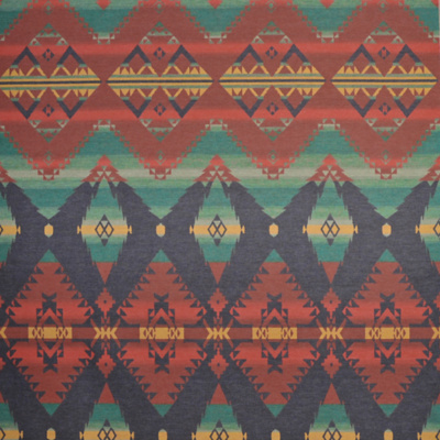 Crow Warrior Blanket - Saranac