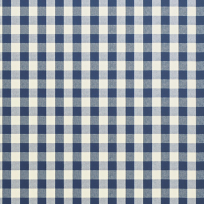 Crawford Gingham - Marine Blue
