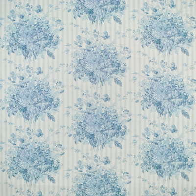 Meeting House Floral - Sky Blue
