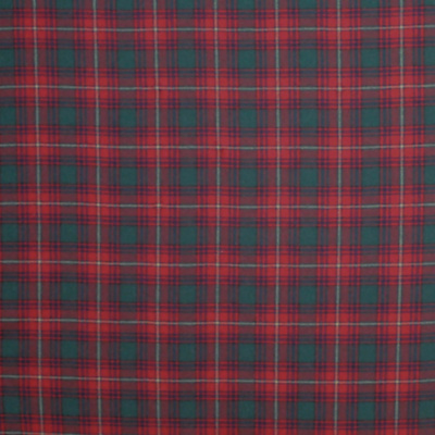 Doncaster Tartan - Evening Red