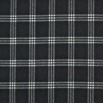 Dickens Wool Check - Black