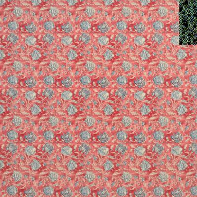 Shell Beach Batik  -Scarlet