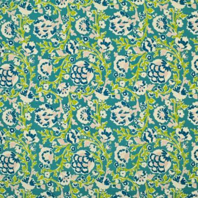 La Alameda Floral - Turquoise