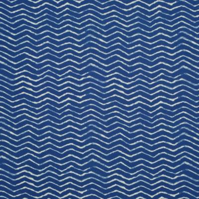 Clovis Herringbone - Cobalt