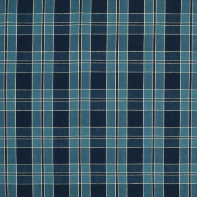 Mission Plaid - Indigo