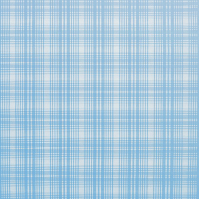 Elsie Silk Plaid - Sky Blue