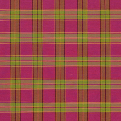 Samburu Plaid - Fuschia