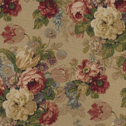 Pergola Floral   Tea   Florals   Fabric   Products   Ralph Lauren Home    RalphLaurenHome.com