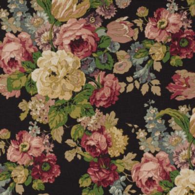 Pergola Floral  - Black