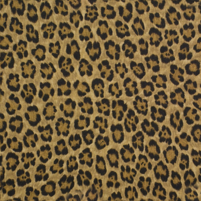 Caledonia Leopard Linen - Bamboo