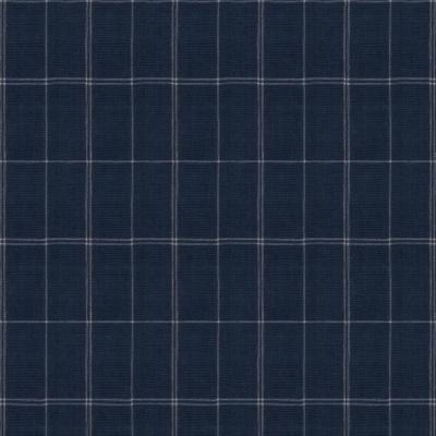 Sauria Grid - Indigo