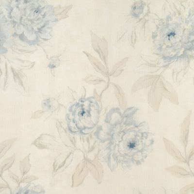 Moonbeach Floral Sheer - Celestial Blue