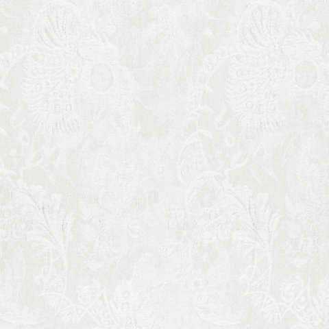 Chambly Damask White Orchid Fabric Products