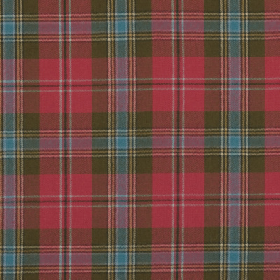 Pimpernal Tartan - Ancient Red