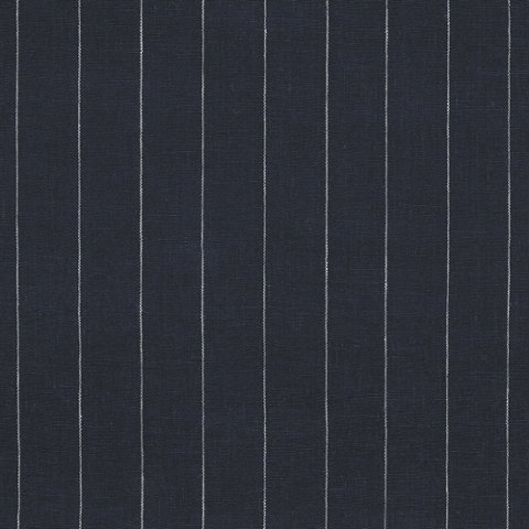Walker Pinstripe Navy Fabric Products Products