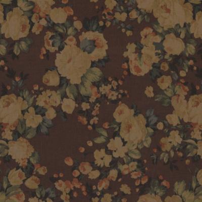 Ogdon Floral – Mahogany