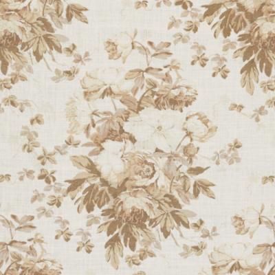 Elsa Linen Floral - Antique Ivory