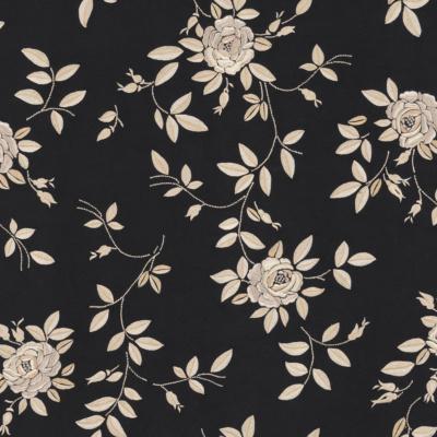 Josefina Embroidery - Black Pearl