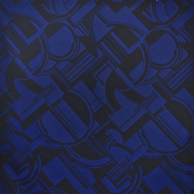 Transatlantique Deco - Royal Blue