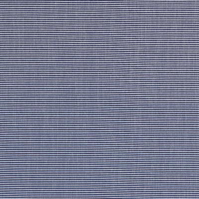 Pierre Ottoman - Navy/White