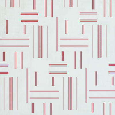 Beaumarchais Patchwork - Red