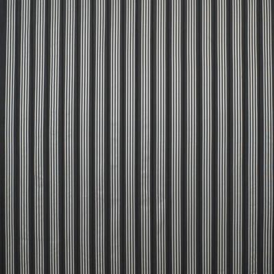 Palatine Silk Stripe – Charcoal