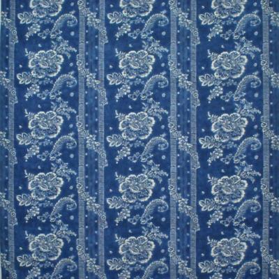 Antoinette Floral - Vintage Blue