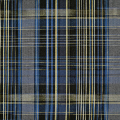 Wilhelm Linen Plaid - Carbonatite