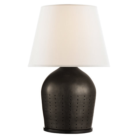 Halifax large table lamp in black ceramic with white paper shade halifax large table lamp in black ceramic with white paper shade table lamps lighting products ralph lauren home ralphlaurenhome aloadofball Image collections