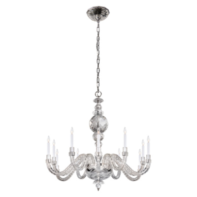 Georgina Large Chandelier in Crystal