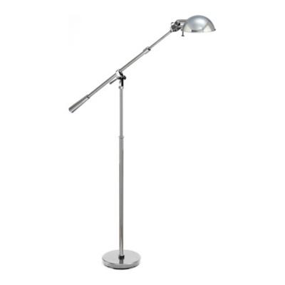 Fairfield Floor Lamp in Polished Nickel
