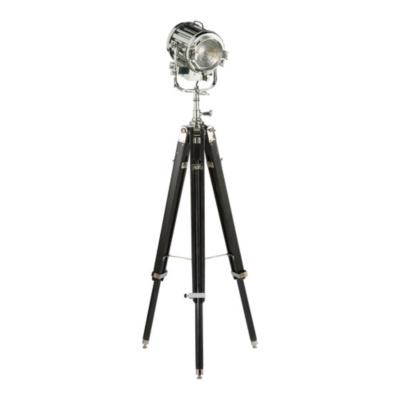 Montauk Search Light Floor Lamp in Ebony