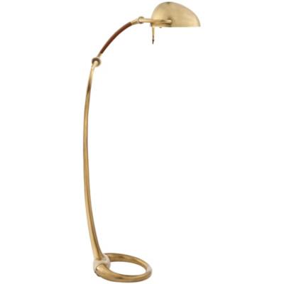 Westbury Floor Lamp in Natural Brass