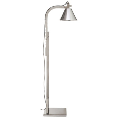 Ashcroft Floor Lamp in Polished Nickel