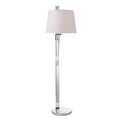 Riviera Floor Lamp in Polished Nickel