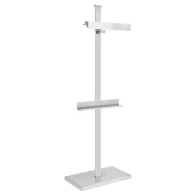 Langham Display Floor Lamp in Polished Nickel