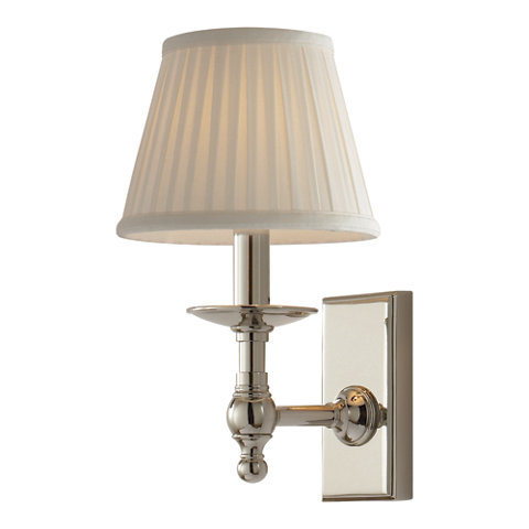 Payson Sconce In Polished Nickel Wall Lamps Sconces Lighting Products