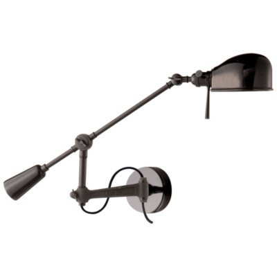 RL '67 Boom Arm Wall Lamp in Black