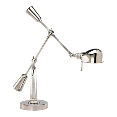 RL '67 Boom Arm Table Lamp in Polished Nickel